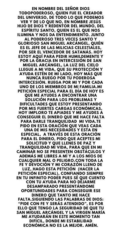 oracion-a-San-Miguel-Arcangel-para-el-dinero