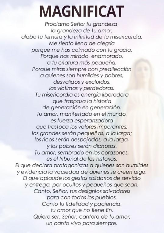 ️ Oración de la magnífica