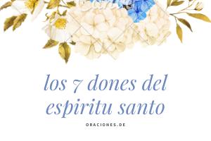 los-7-dones-del-espiritu-santo