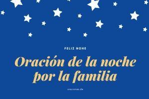 Oración-de-la-noche-por-la-familia